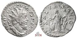 Ancient Coins - South Petherton Hoard (UK) - Postumus Antoninianus - SALVS AVG - Elmer 301
