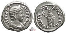 Ancient Coins - Julia Mamaea Denarius - FELICITAS PVBLICA - RIC 335