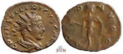Ancient Coins - Tetricus II Antoninainus - SPES AVGG - Elmer 791
