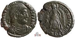 Ancient Coins - Valentinianus I. AE 18 mm - SECVRITAS REIPVBLICAE - RIC 7a