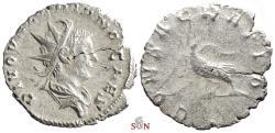 Ancient Coins - Divus Valerian II. Antoninianus - Eagle stg. left - RIC 8