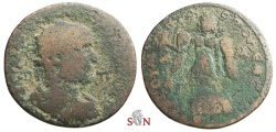 Ancient Coins - CILICIA, Tarsus, Philippus I. AE 32 mm - Nike adv. left - SNG von Aulock 6058
