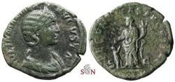 Ancient Coins - Julia Mamaea Sestertius - FECVNDITAS AVGVSTAE - RIC 668