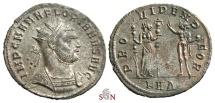 Florianus Antoninianus - Providentia with Sol - RIC 111