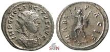 Ancient Coins - Tacitus Antoninianus - MARTI PACIF - RIC 145