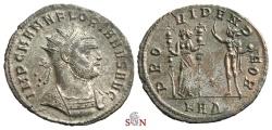 Ancient Coins - Florianus Antoninianus - Providentia with Sol - RIC 111