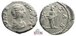 Ancient Coins - Julia Domna Denarius - FELICITAS - RIC 551