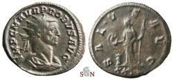 Ancient Coins - Probus Antoninianus - SALVS AVG - RIC 744 c - scarce