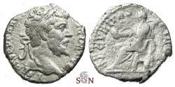 Ancient Coins - Septimius Severus Denarius - SECVRITAS PVBLICA - RIC 93
