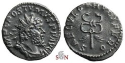 Ancient Coins - Postumus Antoninianus - SAECVLO FRVGIFERO - Elmer 381