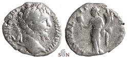 Ancient Coins - Septimius Severus Denarius - LIBERALITAS AVG II - RIC 81 a