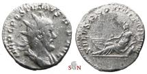 Ancient Coins - Pamphill Hoard (UK) - Postumus Antoninianus - SALVS PROVINCIARVM - AGK 88c