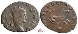 Ancient Coins - Gallienus Antoninianus - NEPTVNO CONS AVG - Hippocamp - Goebl 743 b