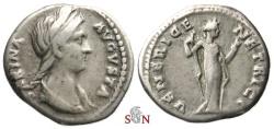 Ancient Coins - Sabina Denarius - VENERI GENETRICI - RIC 396