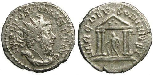 Ancient Coins - Postumus Antoninianus - HERC DEVSONIENSI - Elmer 31