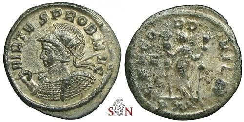 Ancient Coins - Probus Antoninianus - CONCORD MILIT - RIC 481