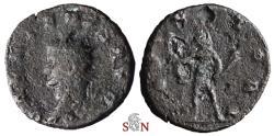 Ancient Coins - Gallienus Antoninianus - IOVI VLTORI - head left - Goebl 348b  - very rare
