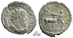 Ancient Coins - Postumus Antoninianus - DIANAE REDVCI - Elmer 398