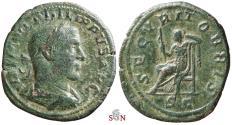 Ancient Coins - Philippus I. Sestertius - SECVRIT ORBIS - RIC 190