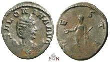 Ancient Coins - Pamphill Hoard (UK) - Salonina Antoninianus - VESTA - Goebl 239 b
