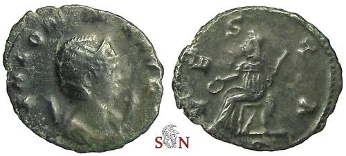 Ancient Coins - Salonina Antoninianus - VESTA - RIC 32