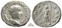 Ancient Coins - Gordianus III. Antoninianus - VIRTVS AVG / IMP CAES GORDIANVS PIVS AVG - rare