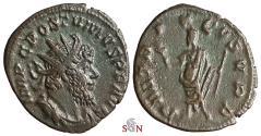 Ancient Coins - Postumus Antoninianus - Postumus standing left - Very Rare - Elmer 596