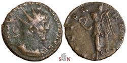 Ancient Coins - Victorinus Antoninianus - VICTORIA AVG - Elmer 744