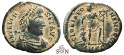 Ancient Coins - Valens AE 19 mm - GLORIA ROMANORVM - Cyzicus mint - RIC 8 b