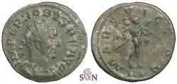 Ancient Coins - Probus Antoninianus - MARS VICTOR / III - RIC 38