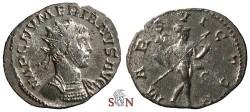 Ancient Coins - Numerianus Antoninianus - MARS VICTOR - RIC 388