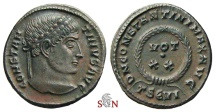 Ancient Coins - Constantinus I. the Great Follis - DN CONSTANTINI MAX AVG - Thessalonica mint - RIC 123