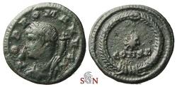 Ancient Coins - Constantinus I. AE 4 - POP ROMANVS anonymous issue - Constantinopolis