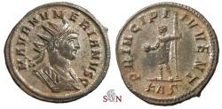 Ancient Coins - Numerianus Antoninianus - PRINCIPI IVVENT - RIC 360