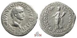 Ancient Coins - Galba Denarius - CONCORDIA PROVINCIARVM - RIC 54