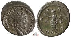 Ancient Coins - Victorinus Antoninianus - very rare heroic bust - Cunetio 2529