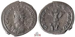 Ancient Coins - Gallienus Antoninianus - GALLIENVS AVG GERM V - GERMANICVS MAX V - Goebl 872 q