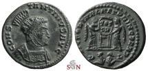 Ancient Coins - Constantinus I. the Great Follis - VICTORIAE LAETAE PRINC PERP - RIC 79