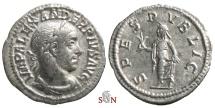 Ancient Coins - Severus Alexander Denarius - SPES PVBLICA - RIC 251