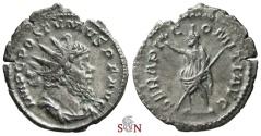 Ancient Coins - Postumus Antoninianus - SERAPI COMITI AVG - Elmer 383 - Ex Lückger Collection