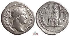 Ancient Coins - Hadrianus Denarius - ROM FELIX P M TR P - eastern mint - very rare