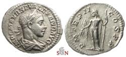 Ancient Coins - Severus Alexander Denarius - Jupiter standing left - RIC 72