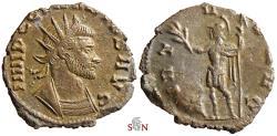 Ancient Coins - Claudius II Gothicus Antoninianus - VIRTVS AVG - RIC 109