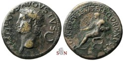Ancient Coins - Divus Augustus Dupondius - struck under Caligula - RIC 156