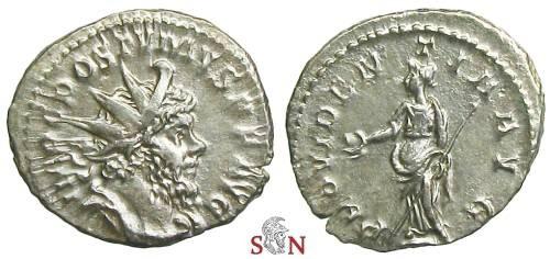 Ancient Coins - Postumus Antoninianus - PROVIDENTIA AVG - Elmer 337