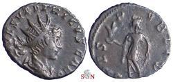 Ancient Coins - Tetricus II. Antoninianus - SPES PVBLICA - Elmer 769