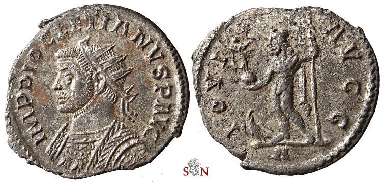 Ancient Coins - Diocletianus Antoninianus - IOVI AVGG - Lugdunum - Bastien 311 -  Very Rare