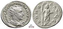 Ancient Coins - Trebonianus Gallus Antoninianus - ANNONA AVGG - RIC 31