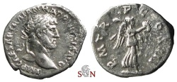 Ancient Coins - Hadrianus Quinarius - Victory adv. right - RIC 103