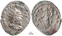 Ancient Coins - Postumus local imitation - FORTVNA AVG